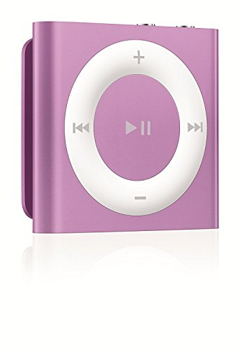 IPod Shuffle 2GB Purple [Discontinued by Manufacturer] with Generic Headset and Usb Charging cord Packaged in White Box