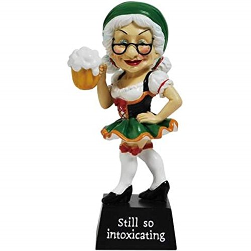 6.25 Inch Old Woman In Dress 'Still So Intoxicating' Figurine ()
