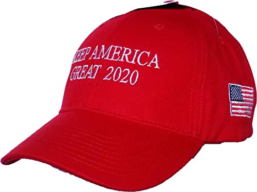 CJs Trading Keep America Great Donald Trump 2020 100% Made In USA MAGA Premium Hat Flag