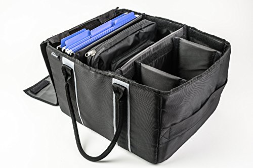 AutoExec AETote-08 Black/Grey File Tote with One Cooler and One Hanging File Holder by AutoExec (Image #17)
