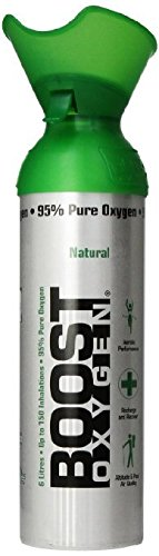 New and Larger, Boost Oxygen Natural Energy in a Can, New Large Size: 10 Liters over 200 One-Second Inhalations, Pack of 14 by Boost Oxygen (Image #1)
