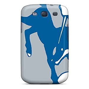 Galaxy S3 HTB731WedD Indianapolis Colts Tpu Silicone Gel Case Cover. Fits Galaxy S3