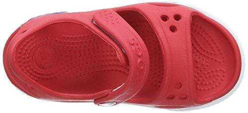 CrocsCrocband Ii - sandalias Unisex, para niños Rosso (Red/White)