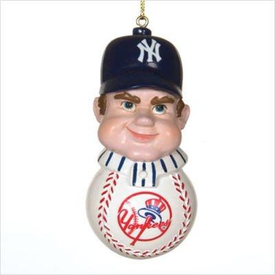 - SC Sports MLB New York Yankees Slugger Ornament, Team Color, One Size