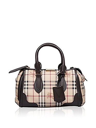 Burberry Gladstone Tote Bag 3870759 Chocolate - Burberry Leather Handbag