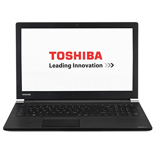 Toshiba Satellite Pro R50 C 1E8 Ordenador portátil de 15 6 HD Intel Celeron 3855U 4 GB 128GB SSD Intel HD Graphics 520 Windows 10 Pro Teclado QWERTY Español color Negro grafito