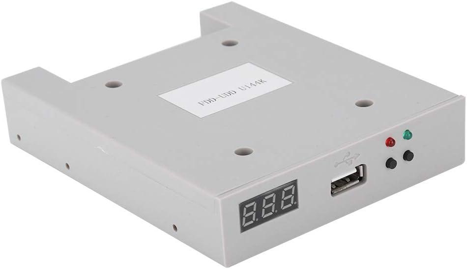Emulador USB para Controladores industriales, FDD-UDD U144K Emulador de Unidad de Disquete SSD USB de 1,44 MB con una CPU de 32 bits, fácil de Instalar y Usar.