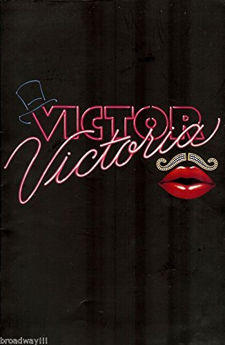 """Julie Andrews""""VICTOR/VICTORIA"""" Tony Roberts/Michael Nouri 1995 Broadway Souvenir Program"""