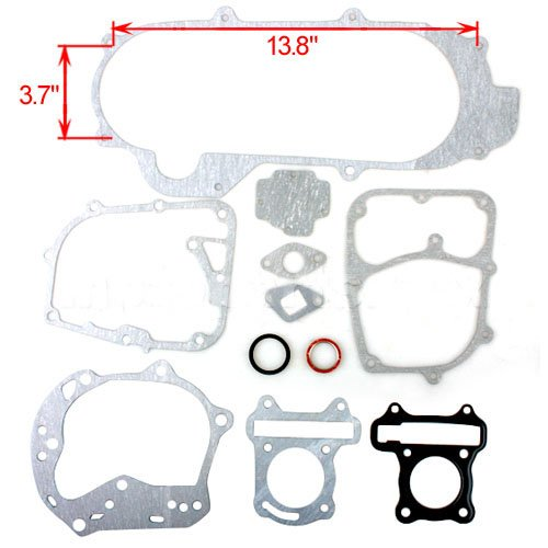 (Complete Gasket Set for GY6 50cc Mopeds 50 CC 50c Scooters Roketa Taotao Jonway NST Tank BMS DongFang Supermach Znen Baron)