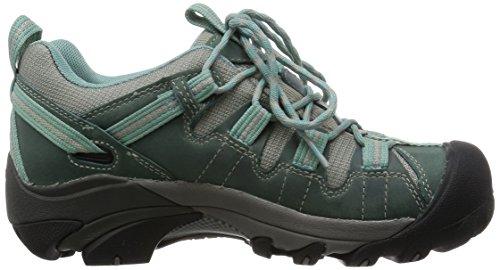 Keen Targhee II WP Womens Scarpe Da Passeggio - SS16 Green - Mineral Blue/Neutral Gra