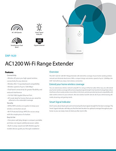 d link ac1200 range extender manual