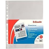 Esselte 395097600 Buste a Foratura Universale Copy Safe, Confezione da 50