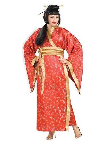 Madame Butterfly Adult Costume - Plus Size (Setting Butterfly Madame)