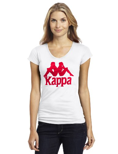 Amazon.com: Kappa Authentic Logo – Camiseta de cuello de ...