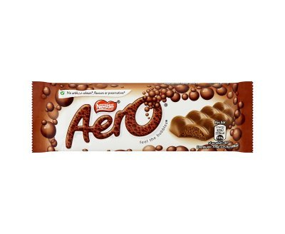 Aero Milk Chocolate Bar (40g x 18)