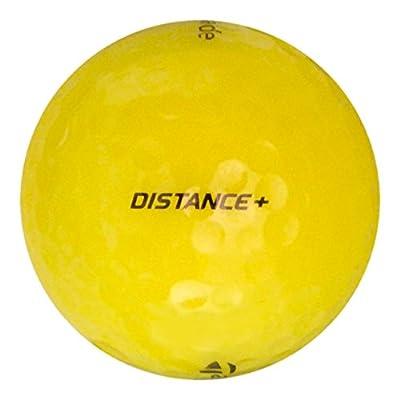 TaylorMade 36 Distance + Yellow - Mint (AAAAA) Grade - Recycled (Used) Golf Balls