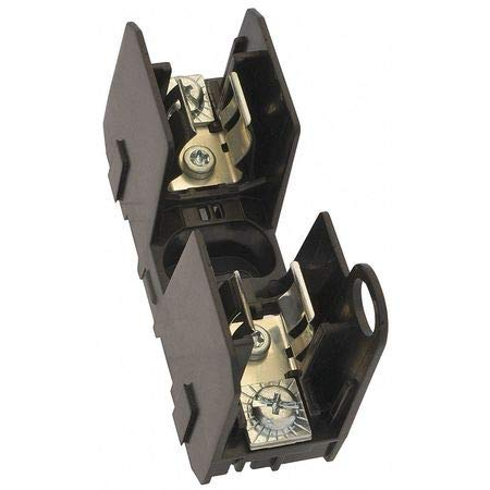Fuse Block, 30A, 600V, 2.2 in. W, 2 Poles
