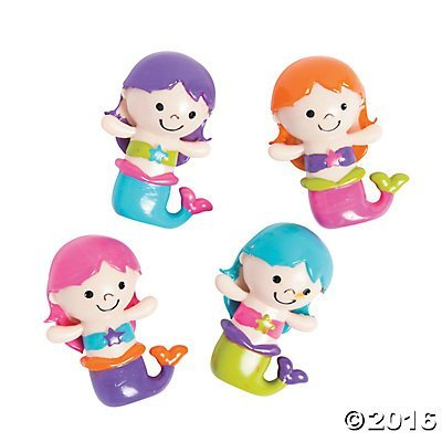(Mermaid Character Party Favors - 12 ct)