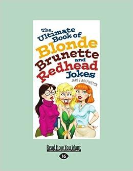 Blonde brunette joke redhead