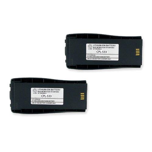 Cisco CP-BATT-7920-STD/EXT Cordless Phone Battery Combo-Pack Includes: 2 x EM-CPL-533 Batteries