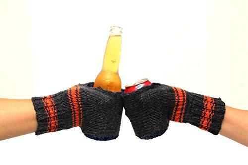 Boozy Kuzy Beer Gloves Orange product image
