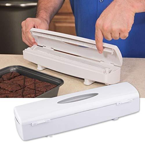 Loune WeekWrap Dispenser 1Pc Kitchen Plastic Food Cling Wrap Foil Dispenser Cutter Preservative Film Tool Kitchen Gadgets