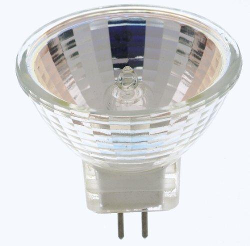 (Satco S3195 10 Watt MR11 Halogen GZ4 Base 12 Volt Clear SP 12 Beam Pattern Light Bulb, No)