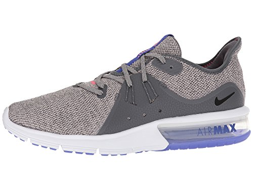Nike Men's Air Max Sequent 3 Running Shoe (6.5, Dark Grey/Black-Moon Particle) by Nike (Image #5)