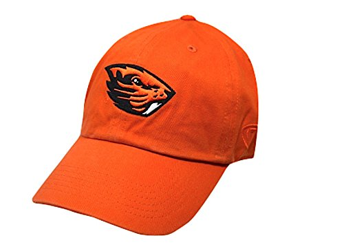 (Top of the World NCAA Oregon State Beavers Men's Adjustable Hat Relaxed Fit Team Icon, Orange)