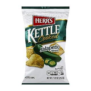 Herr's Jalapeno Kettle Chips, 7.5 Ounce