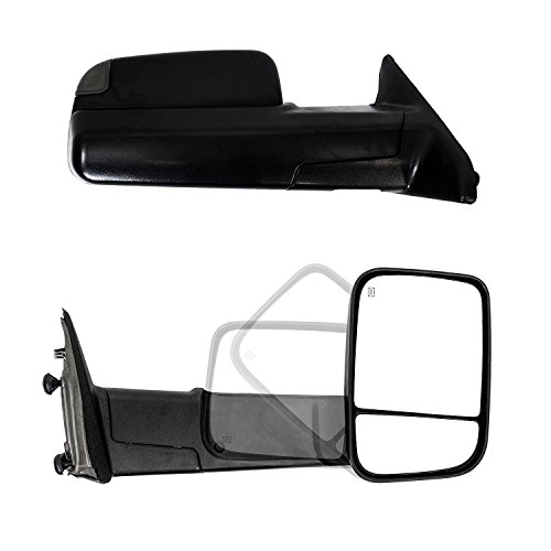 Paragon Towing Mirrors for 2010-18 Dodge Ram 1500/2500/3500, used for sale  Delivered anywhere in Canada