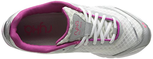 Training Lemonade Chrome Pro Bougainvillea Women's Pink Fit Shoe Ryka White Silver wxA4vqv