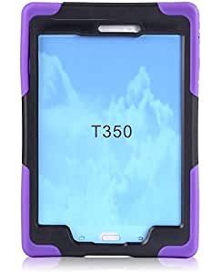Armor Heavy Duty Full Cover Case Stand Cover For Samsung Galaxy Tab A 8.0 T350 purple color