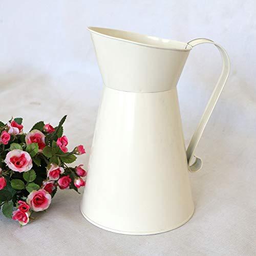 Amazon.com: jarrón de hierro con forma de tetera de ...