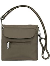 Women's Anti-theft Classic Mini Shoulder Bag Sling Tote, Nutmeg