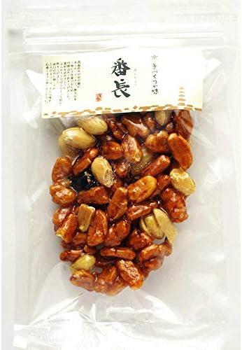 京あめ 番長 あられ ピーナツ 黒豆 太鼓 1枚×5袋