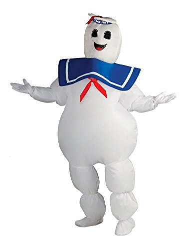 Inflatable Stay Puft Marshmallow Man Costume (Inflatable Stay Puft Marshmallow Man Adult Costume - Standard)