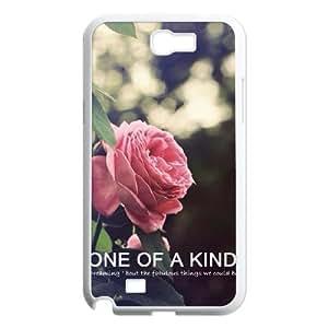 WUCG Brand New Phone Case for Samsung Galaxy Note 2 N7100, diy Beautiful flowers Case