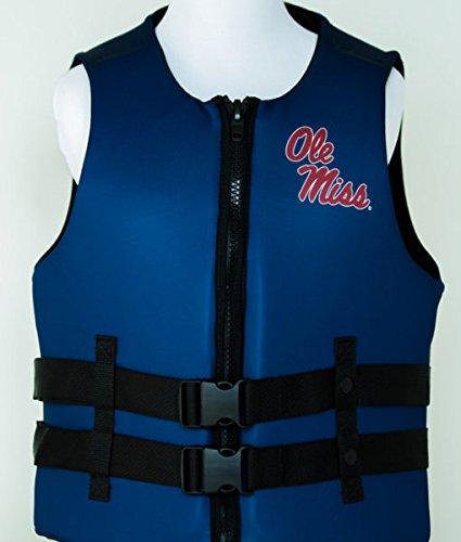 University of Mississippi Ole Miss U S Coast Guard Approved Life Vest (Large) price