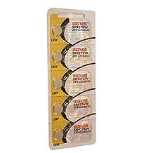 Maxell SR927SW 395 D395 SR57 SR927 Silver Oxide Watch Battery