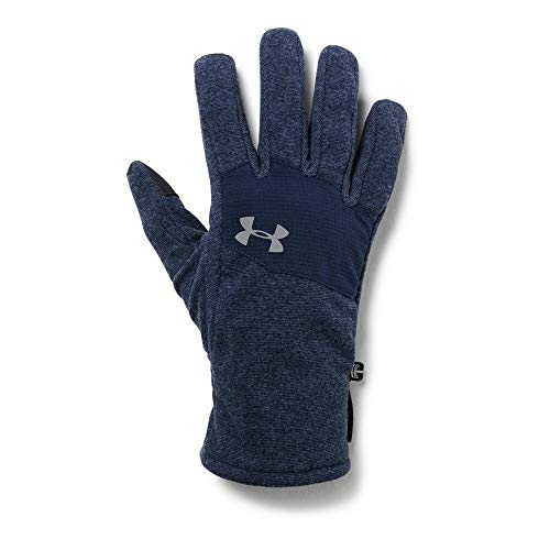 Under Armour Men's Survivor Fleece 2.0 Gloves, Academy (408)/Steel, Large