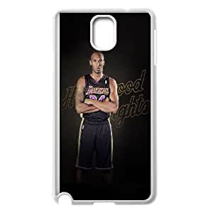 Kobe Bryant Samsung Galaxy Note 3 Cell Phone Case White L0536336