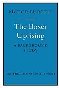 The Boxer Uprising: A Background Study