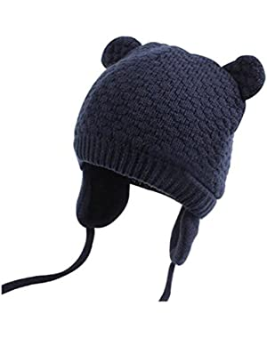 Toddler Infant Kids Cute Knitted Baby Hat Cap For Fall and Winter