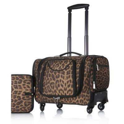 aff7115fc221 Deluxe Weekender Bag with Telescopic Handle by Lori Greiner  Amazon.co.uk   Sports   Outdoors