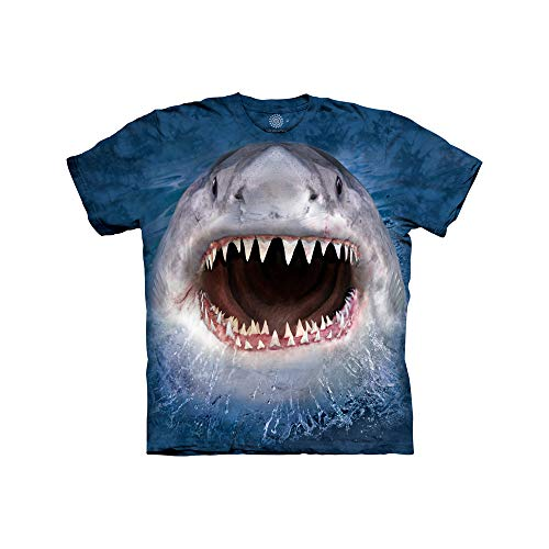 The Mountain Wicked Nasty Shark Child T-Shirt, Blue, XL