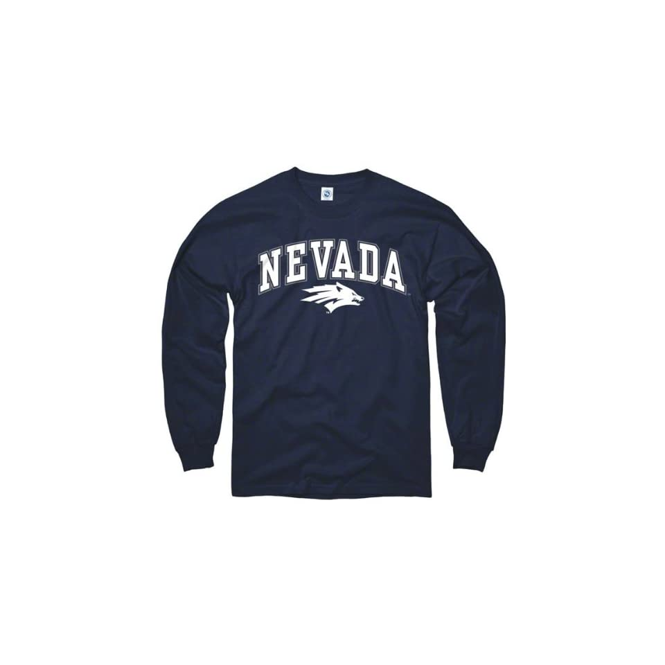Nevada Wolf Pack Youth Navy Perennial Ii Long Sleeve T Shirt
