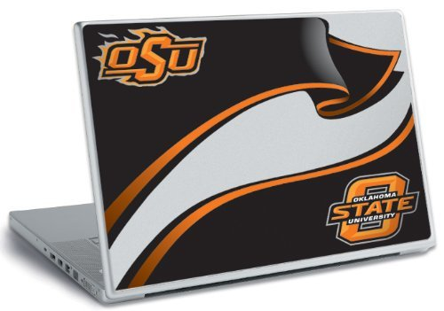 ROOMMATES RMK1735SS Oklahoma State Peel and Stick Laptop Wear