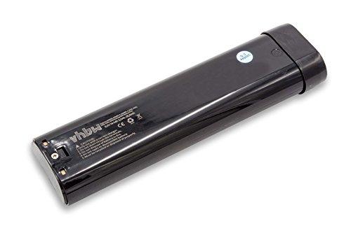 vhbw NiMH Batería 3000mAh (9.6V) para su herramienta electrónica Makita 8400D, 8400DW, 8400VD, 8400VDW, 8402DW, 8402VD…