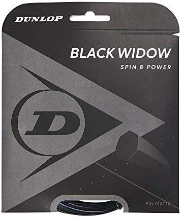 ブラックWidowスピンと耐久性Biomimetic 17G Tennis String